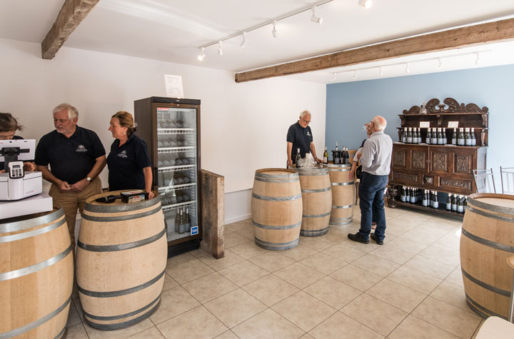 Chartham Vineyard shop