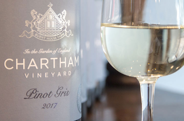 Chartham Vineyard wine tasting